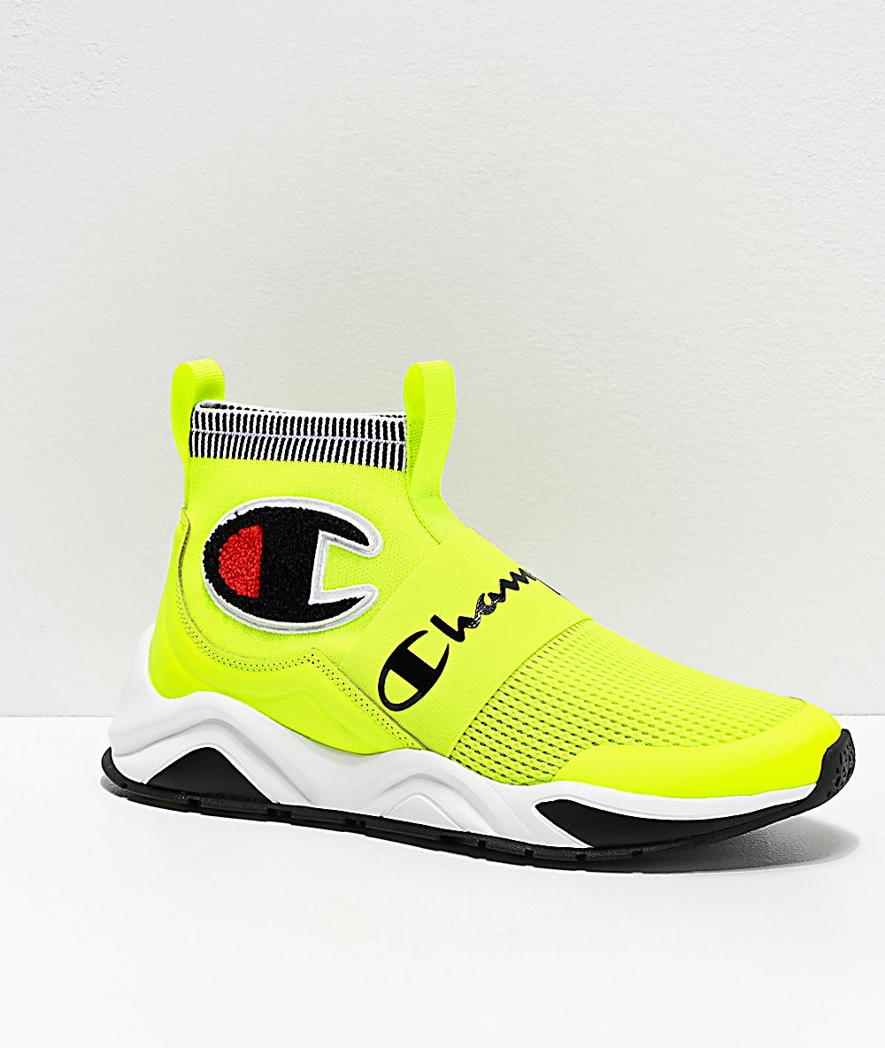 Champion Rally Pro zapatos amarillo neón para hombres