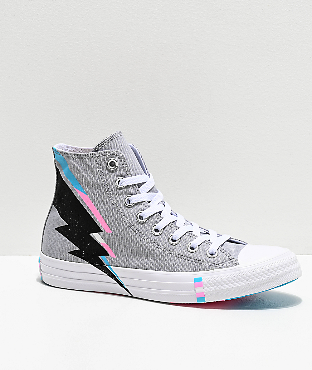 CONVERSE Chuck Taylor All Star Pride Wolf Gray High Top