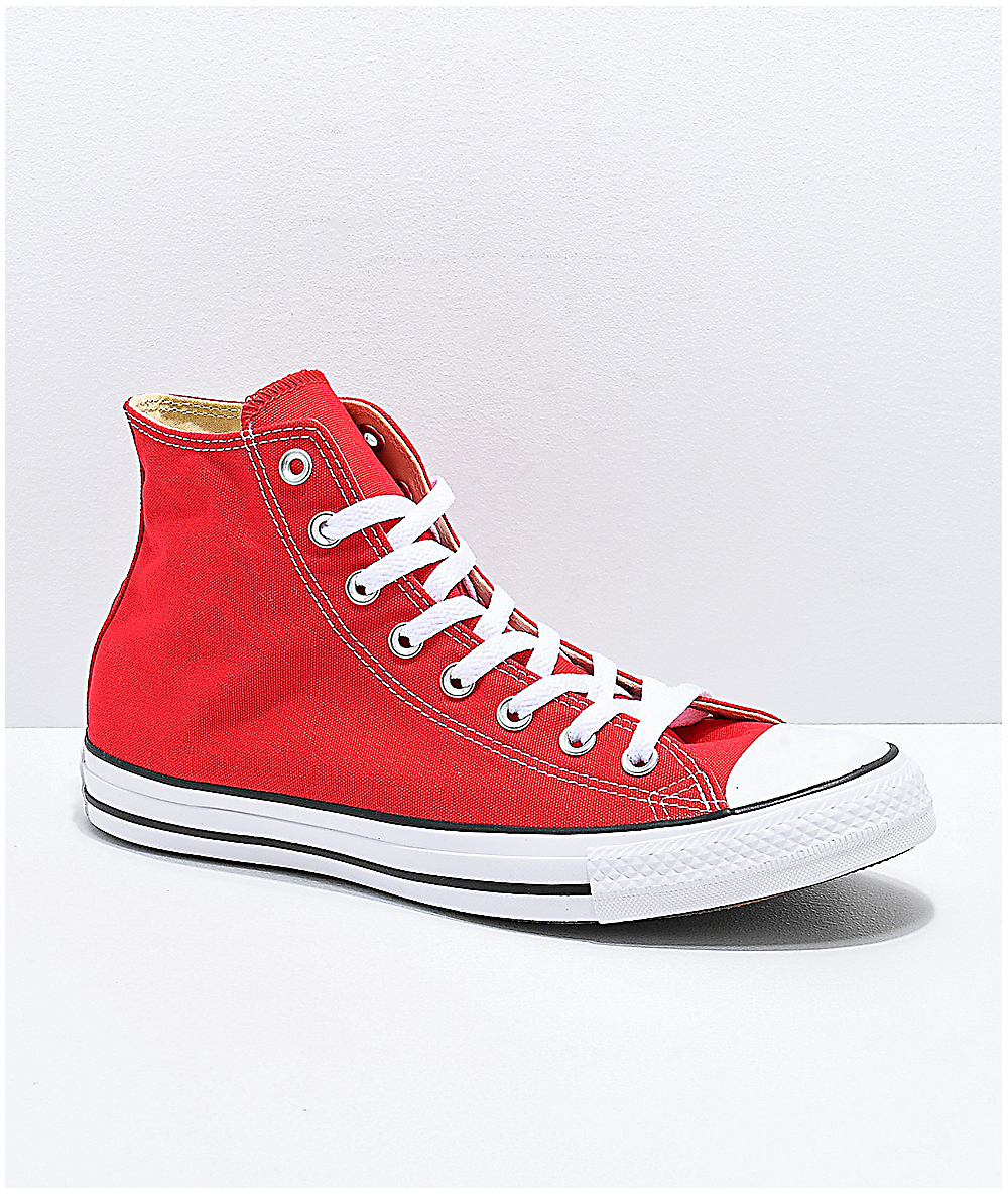 Converse Shoes Hi Ctas Redamp; White If7Yybgv6m