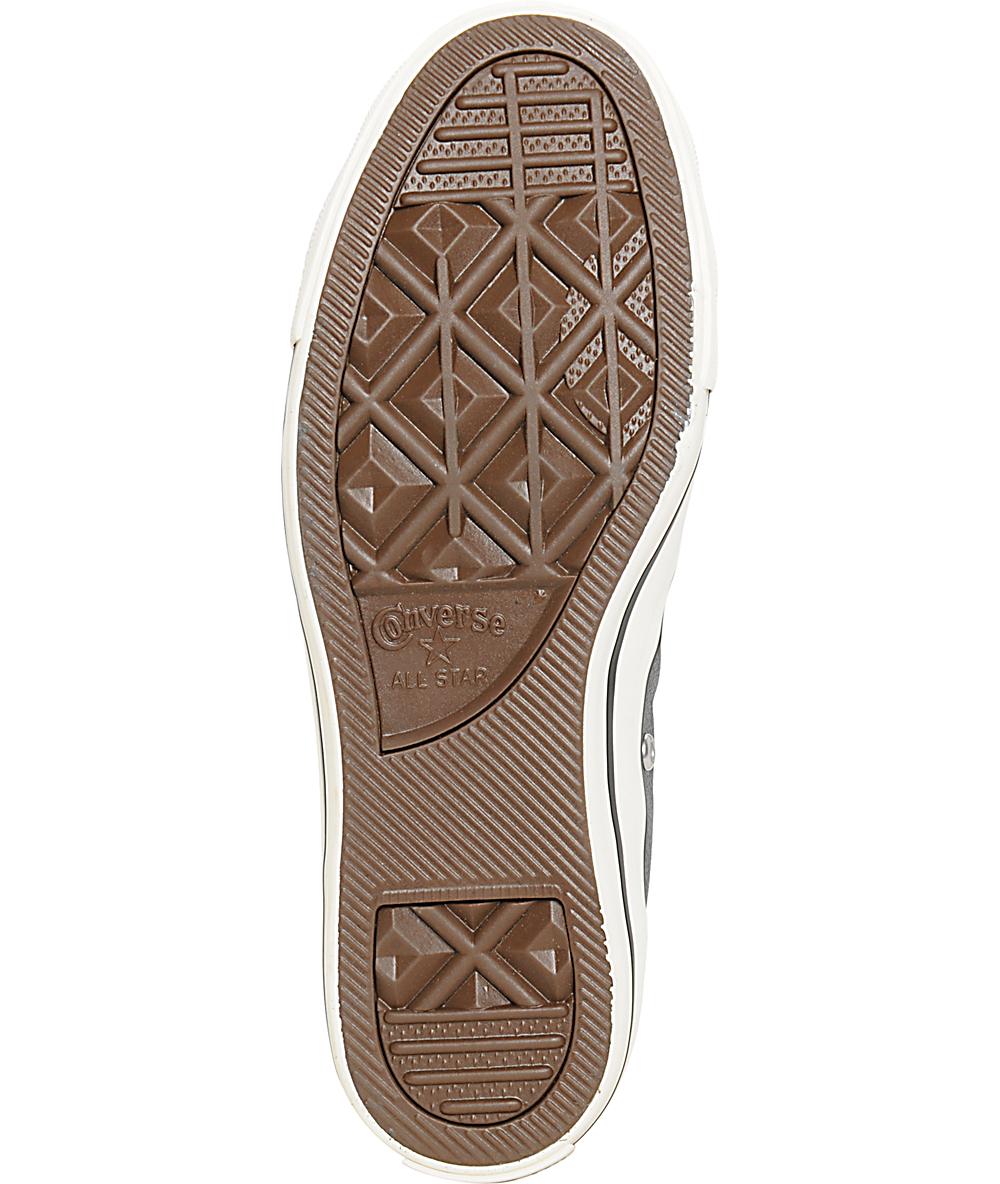 zapatos cuero mujer tipo converse