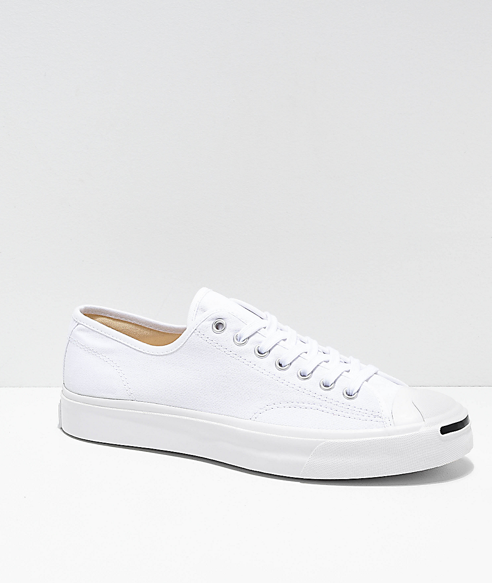 Converse Jack Purcell Pro 1st In Class White Skate Shoes