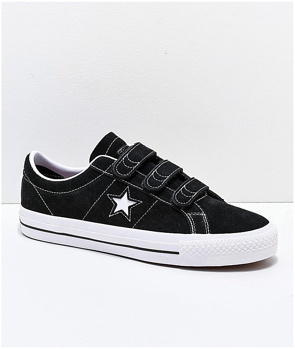 converse noire one star