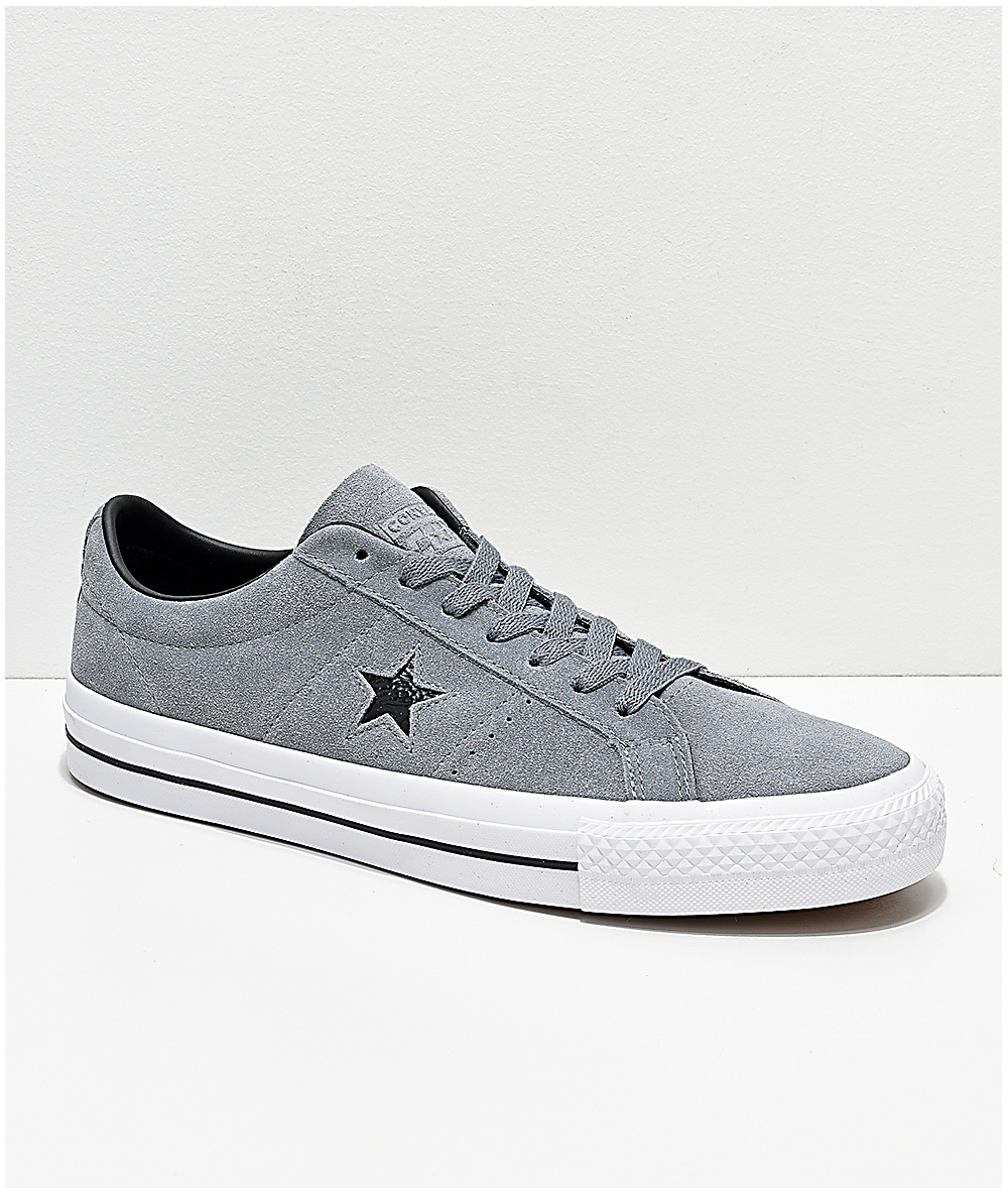 CONVERSE One Star Ox Black & White Low Top Shoes BLKWH