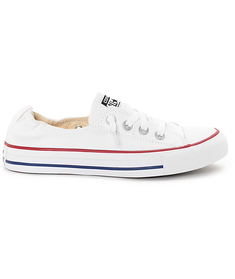 converse mujer optical white