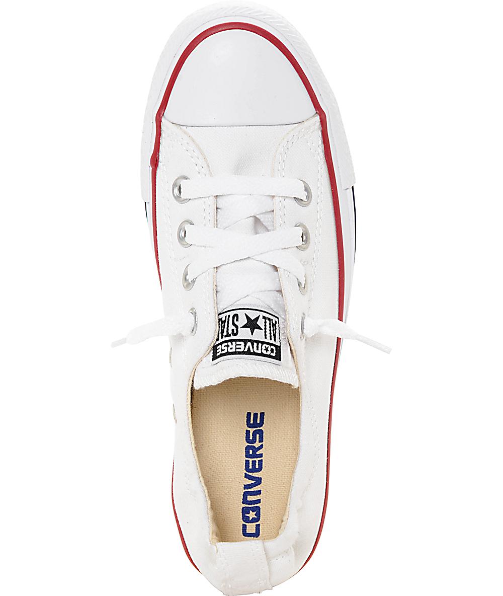 zapatillas converse 24 blancas