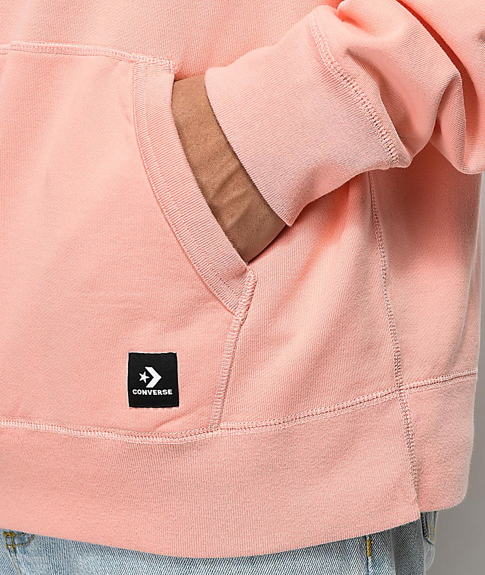 Converse x Golf Wang Le Fleur Peach Pearl Hoodie