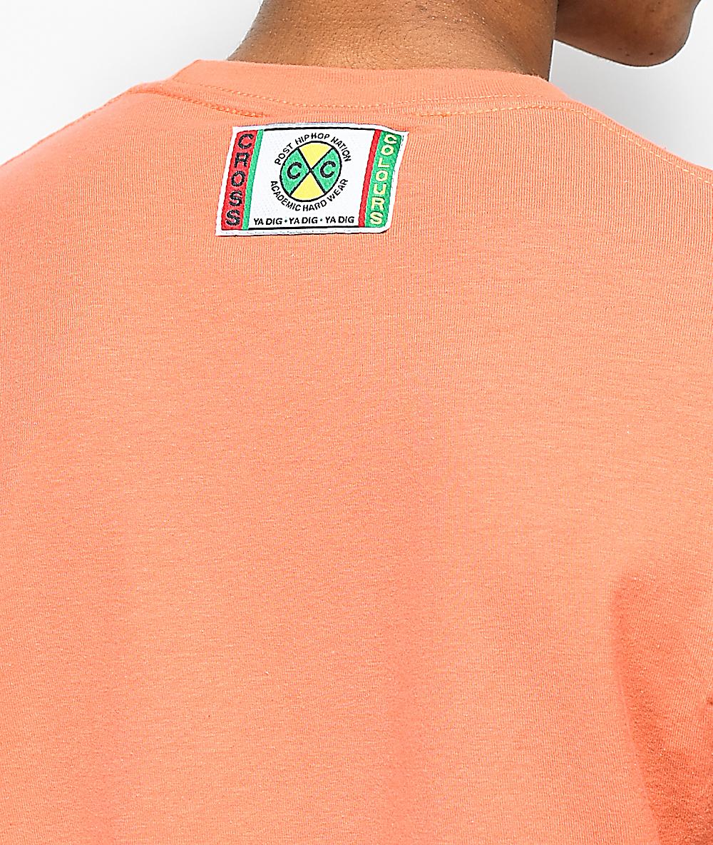 b6d902ebe644 Cross Colours TLC Jump Coral T-Shirt | Zumiez