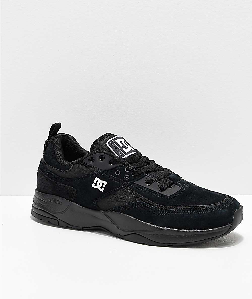 DC E. Tribeka All Black Shoes