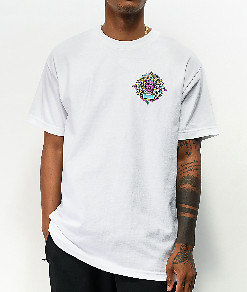 DGK Aztec White T-Shirt