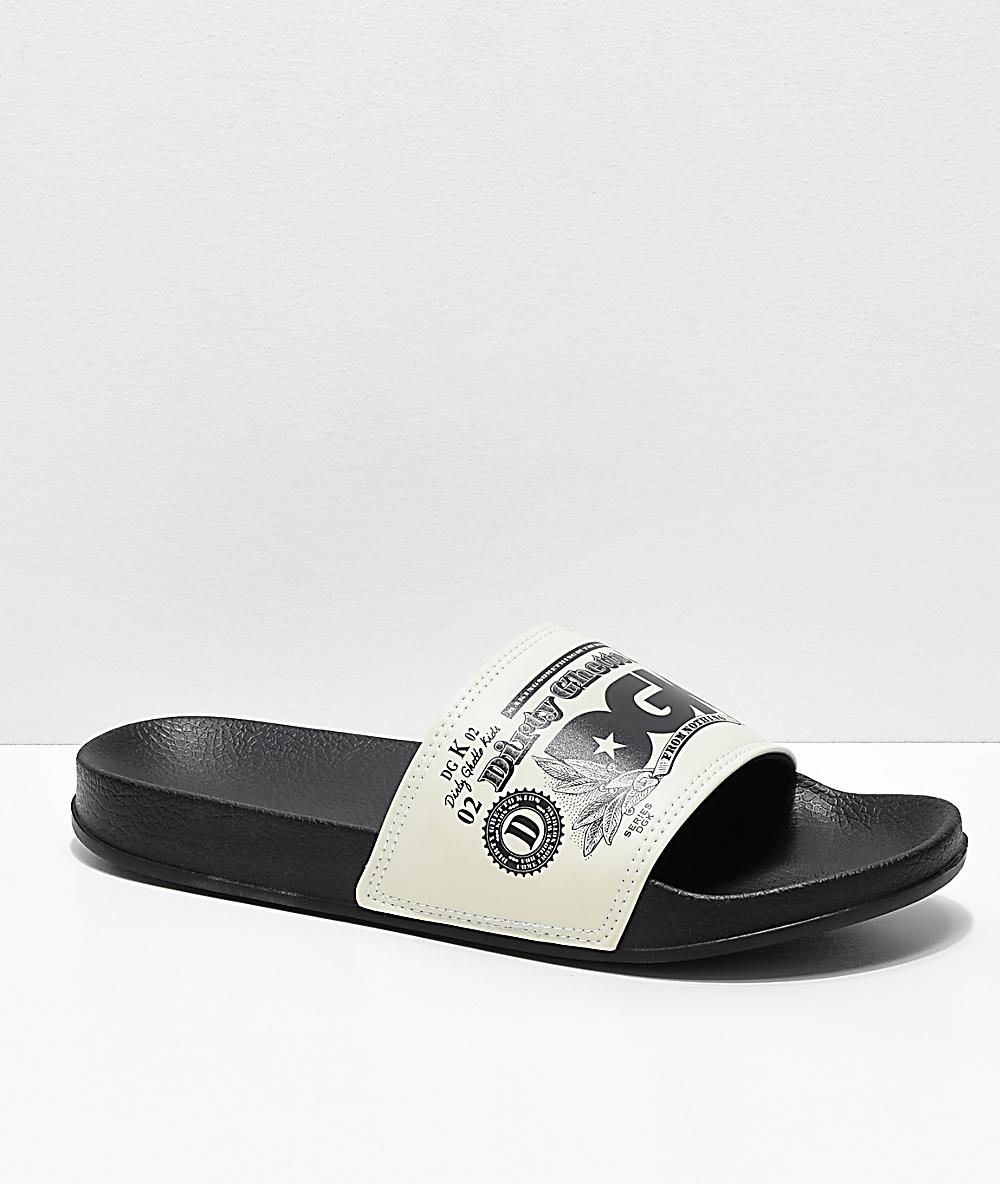 DGK Currency Slide Black