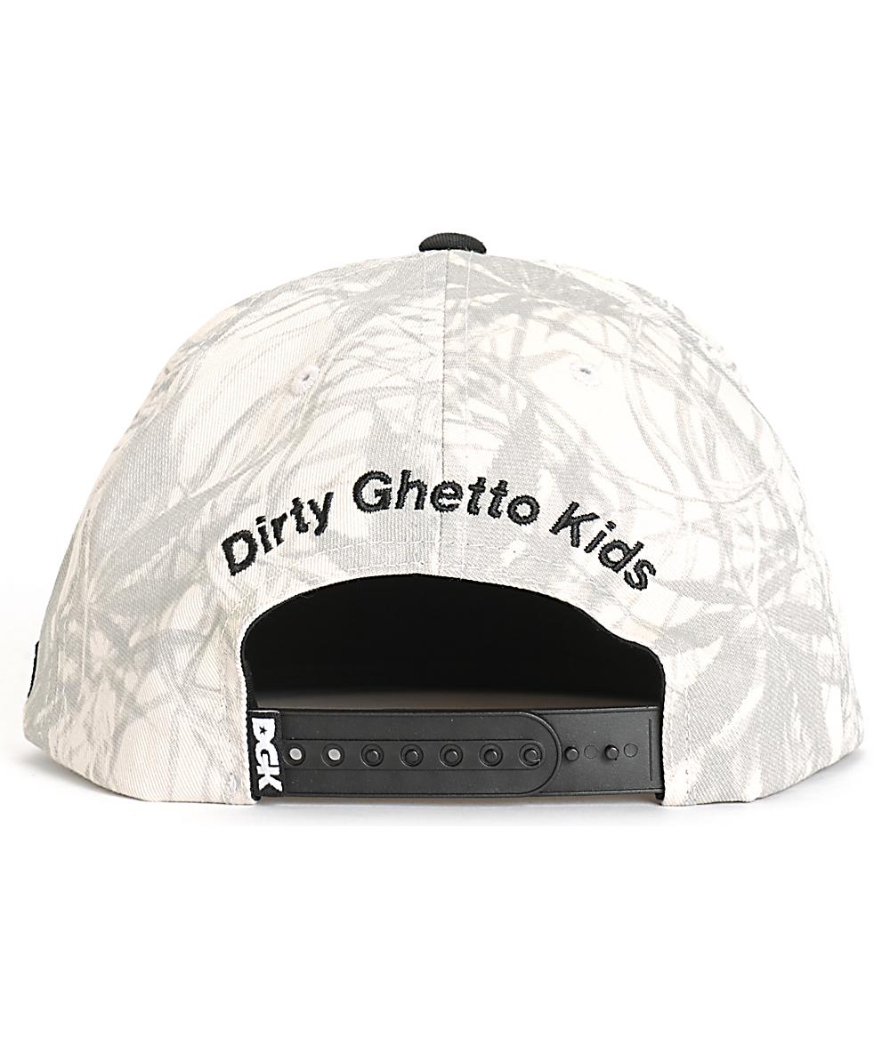 New DGK Humboldt Collective Snapback Cap Hat
