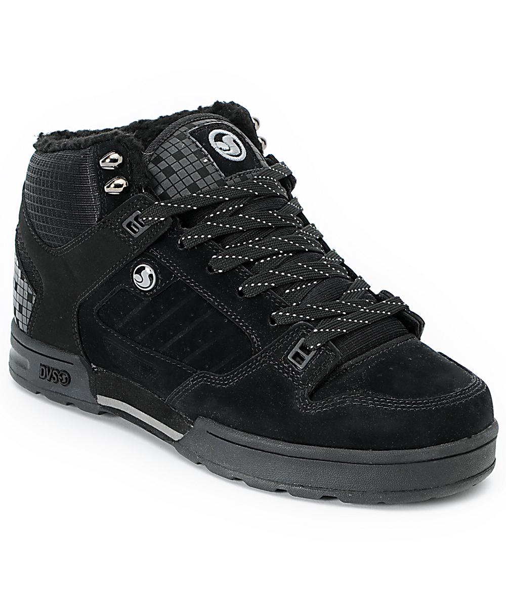 33706c0185c DVS Militia Black Nubuck Boot
