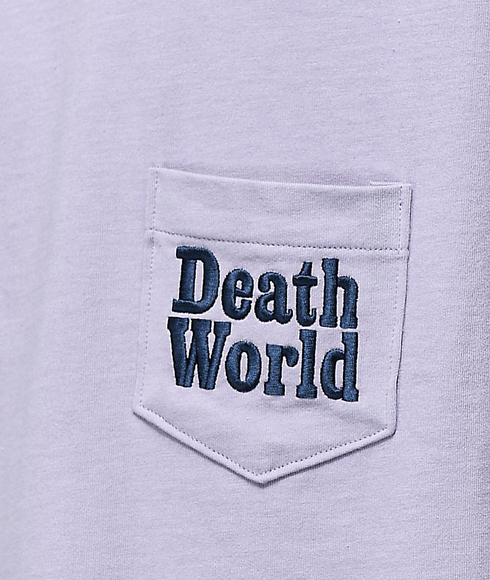 c13950a0 Deathworld Mauve Long Sleeve Pocket T-Shirt