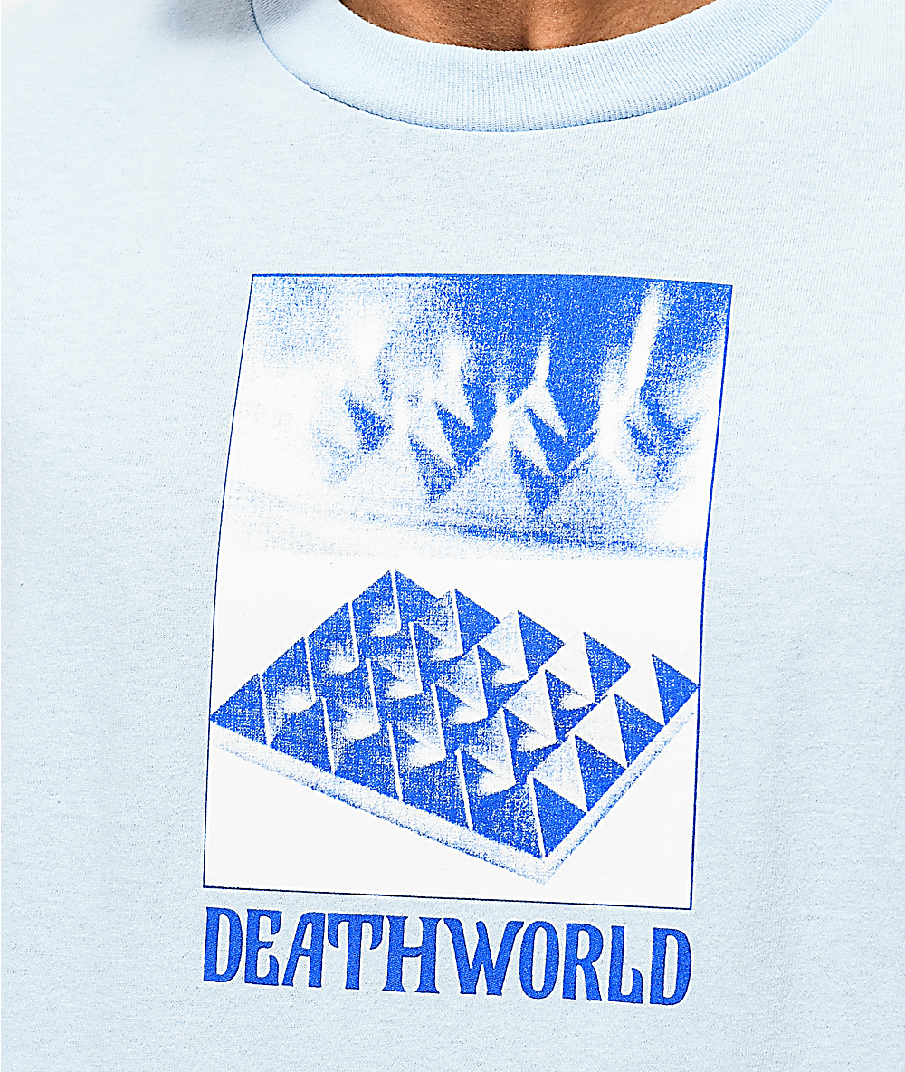 Deathworld Pyramids Powder Blue T-Shirt