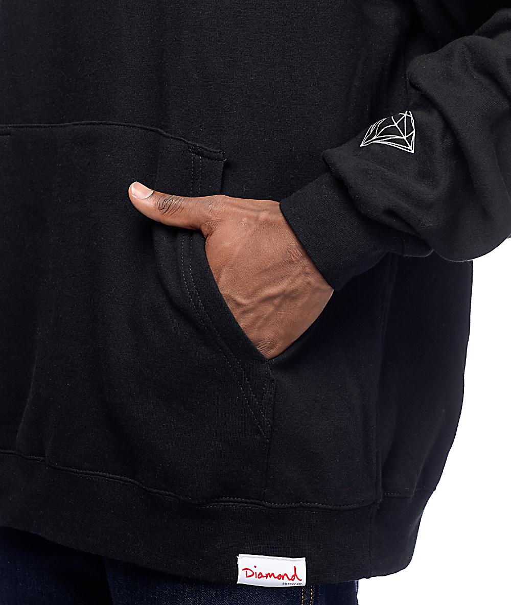 edc556d9 Diamond Supply Co. World's Best Black Pullover Hoodie | Zumiez