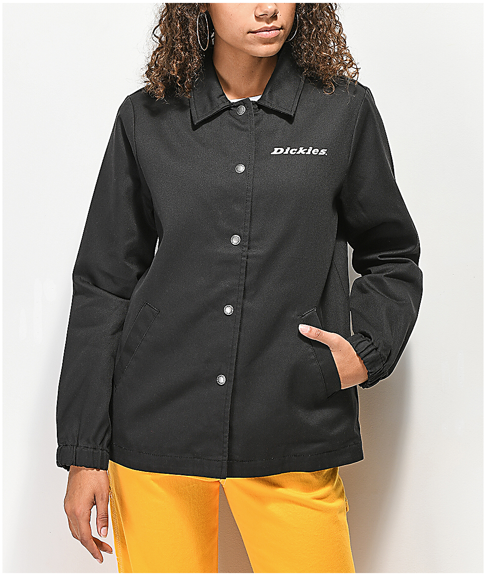 b98e091ed Dickies '67 Black Twill Coaches Jacket