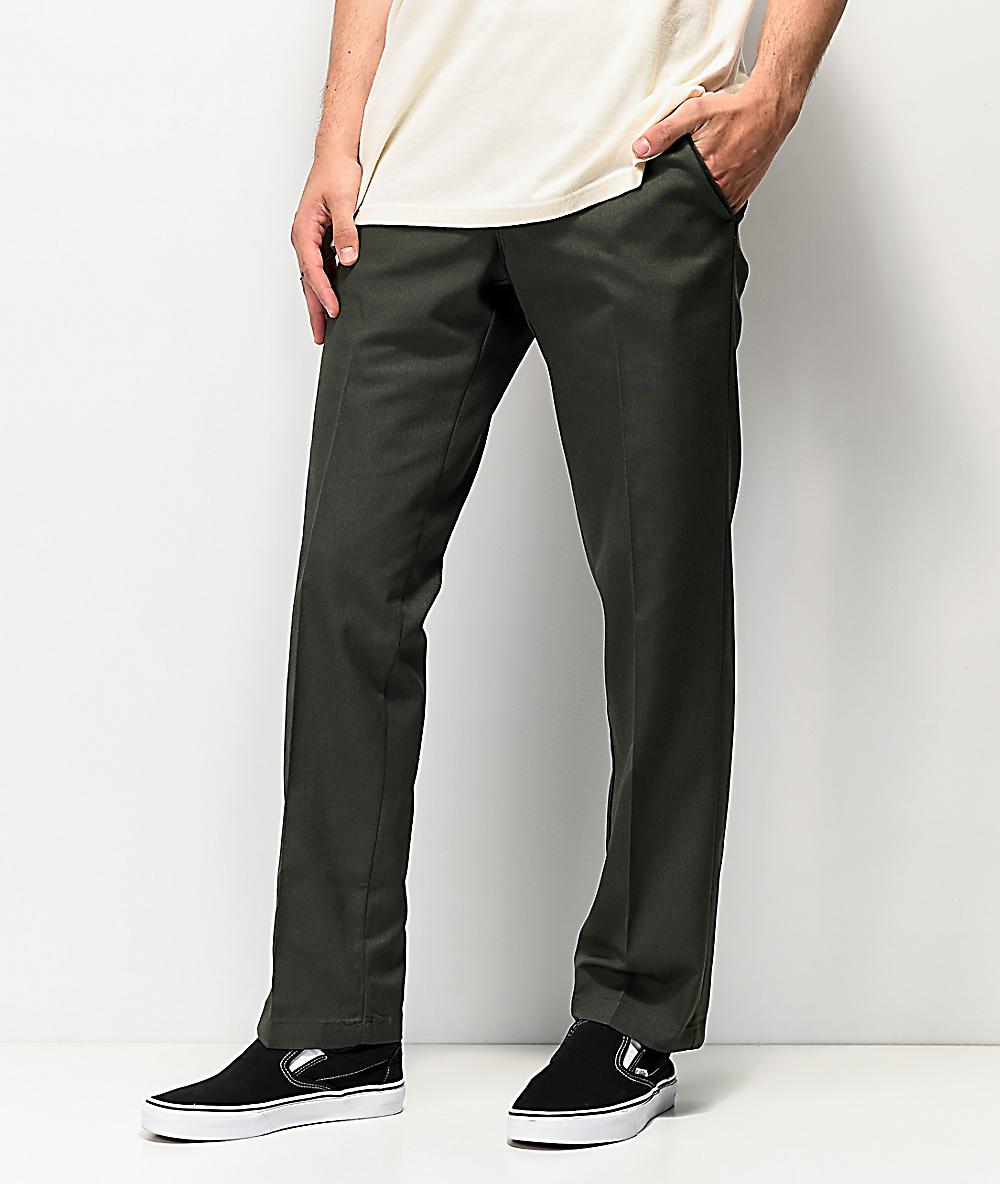 Dickies Mens Flex Work Pant Slim Straight Fit