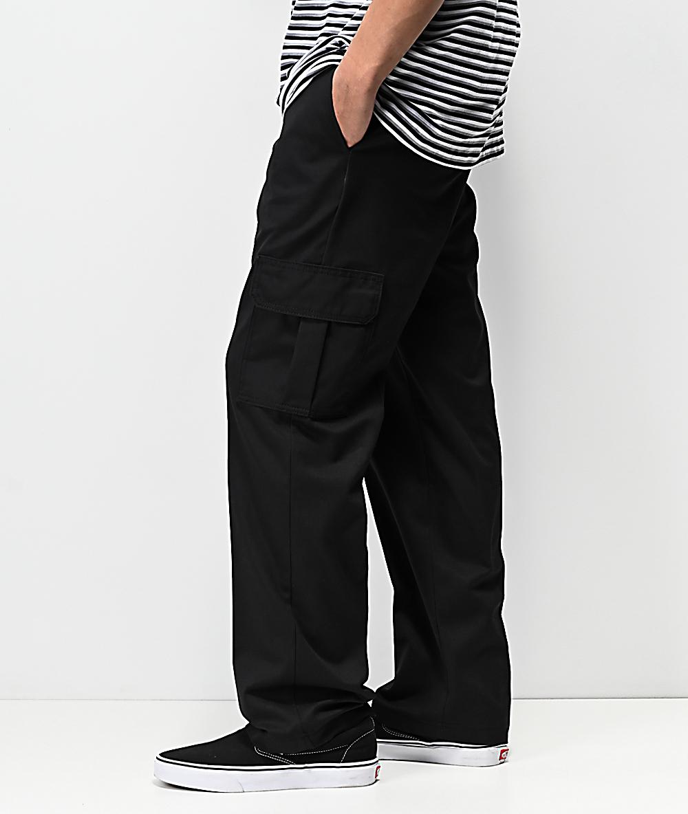 latest trends unequal in performance great deals Dickies Regular Black Cargo Pants