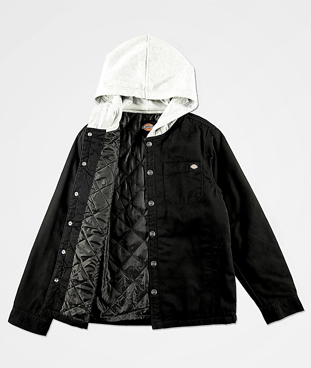 niños de Dickies trabajo negra para chaqueta trxCBdshQ