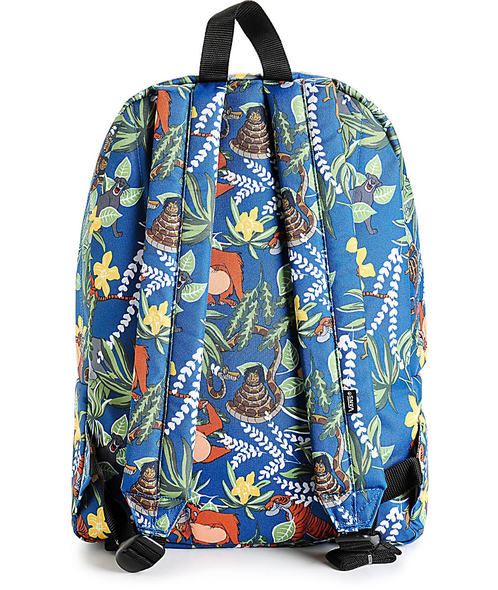 d3d32112b3a Disney x Vans Old Skool II The Jungle Book Backpack | Zumiez