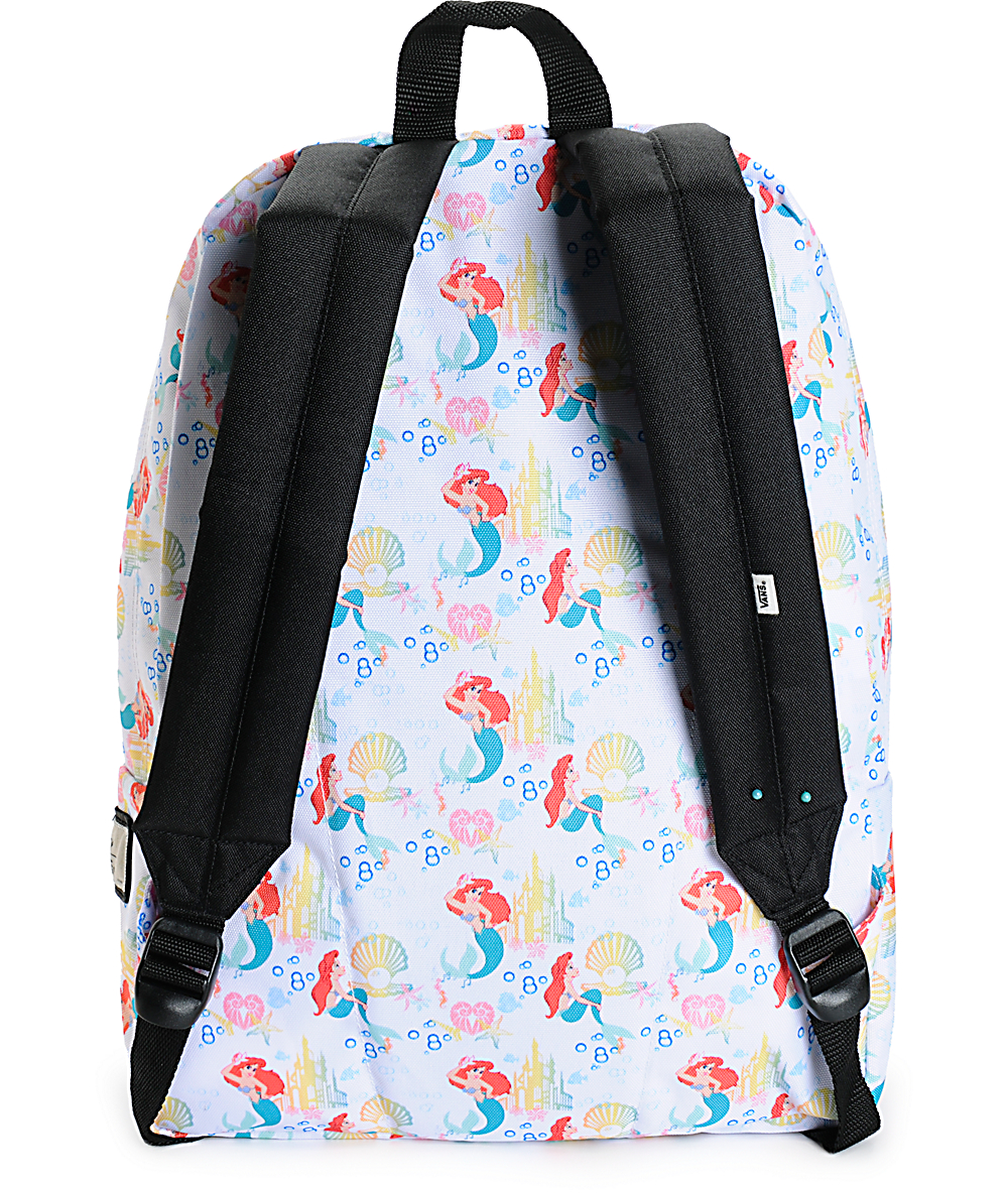 08495b2f040 Disney x Vans The Little Mermaid Backpack | Zumiez