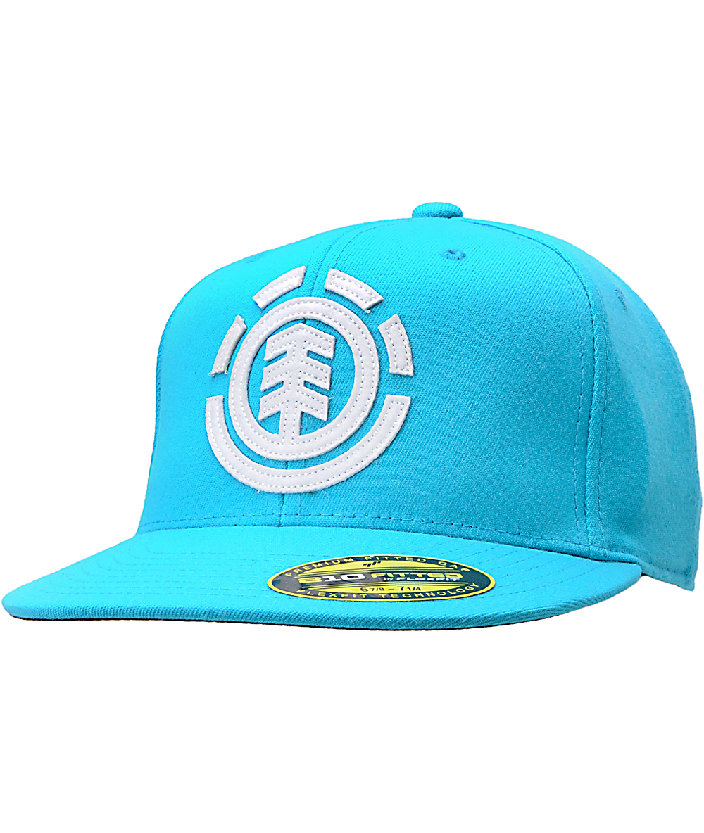 Element Carter Turquoise 210 Flexfit Fitted Hat | Zumiez