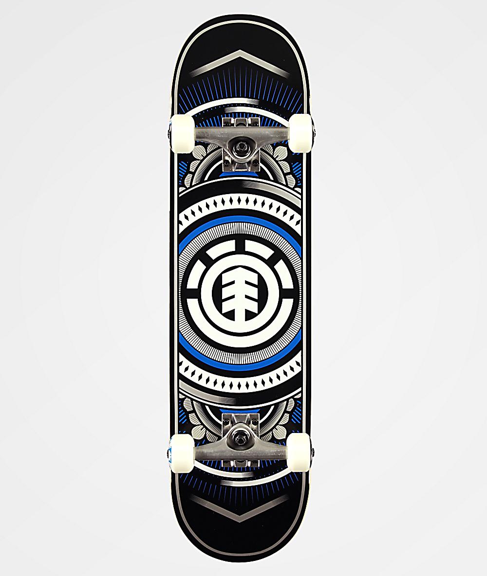 Element Skate Complet Hatched Silverado 8.0