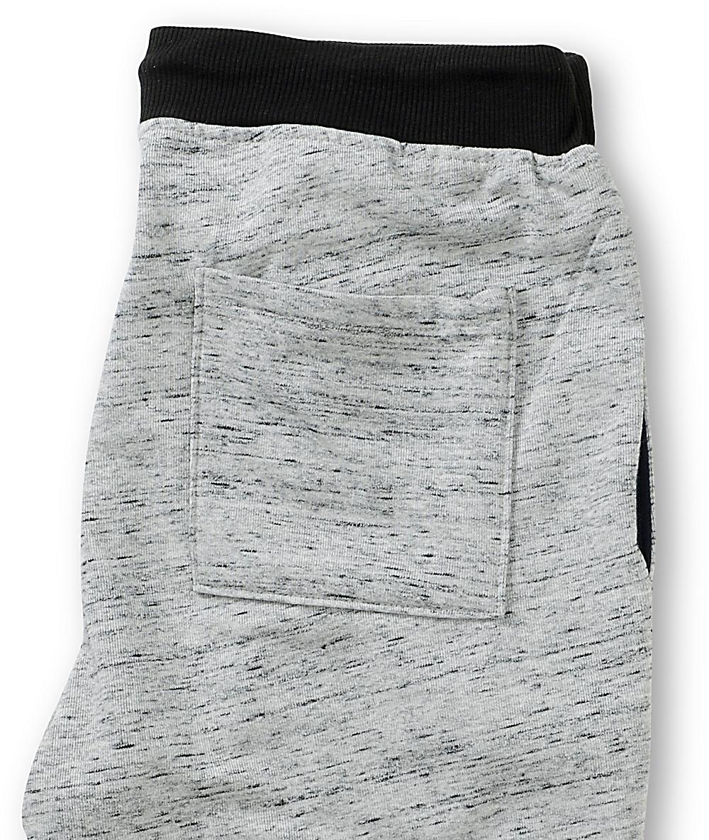 9a680cbe6b Elwood Grey Terry Skinny Jogger Pants