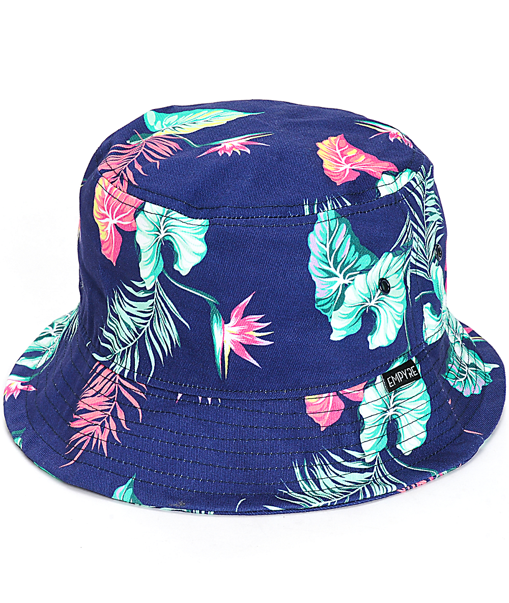 12f1fde7 Empyre Elysian Hawaiian Floral Bucket Hat | Zumiez