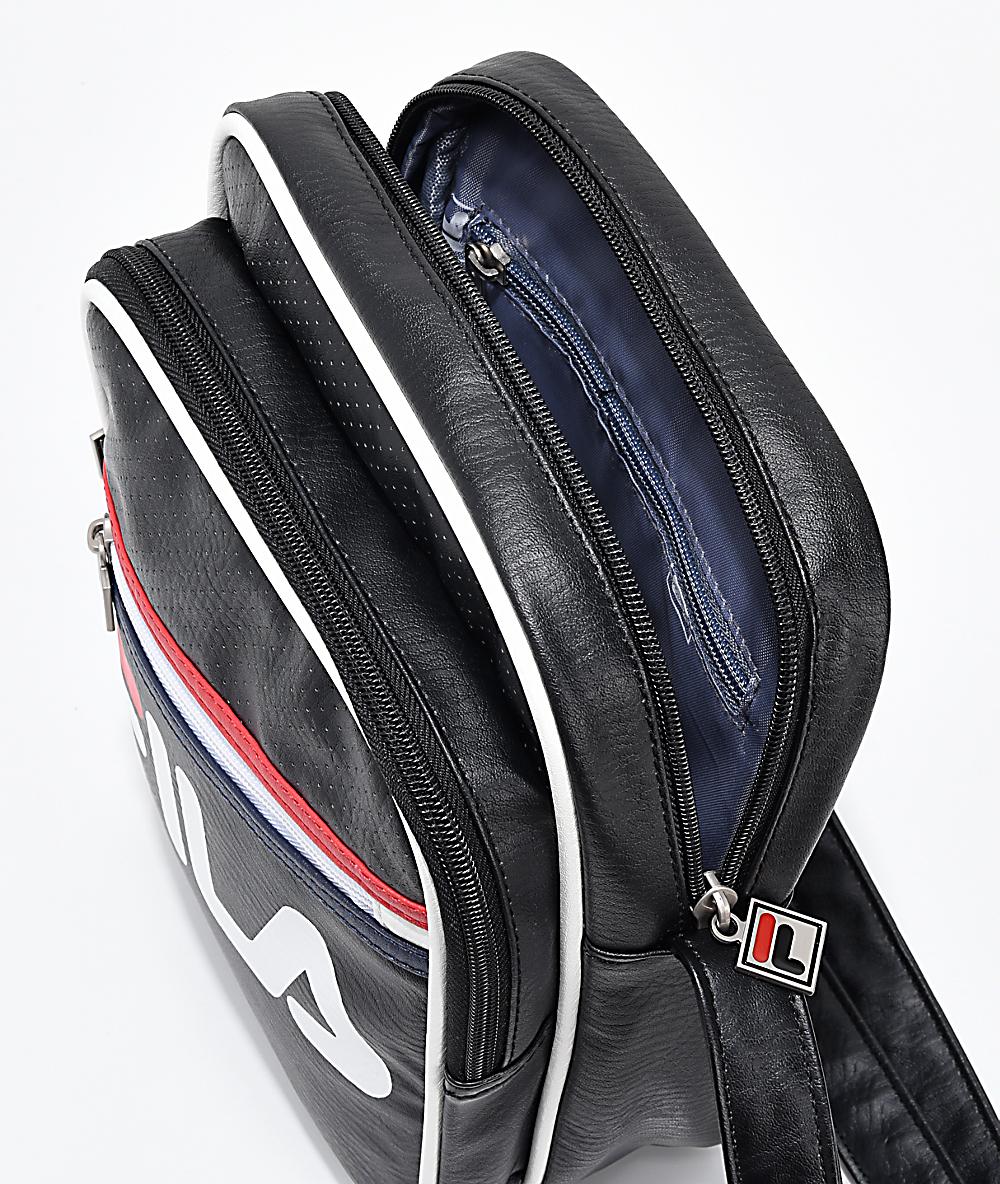 ee12441c2 FILA Buster Black Shoulder Bag | Zumiez