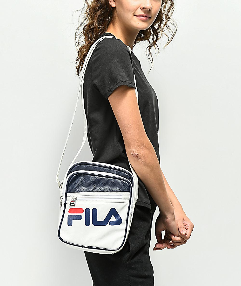66e9d90fa FILA Buster White Shoulder Bag | Zumiez