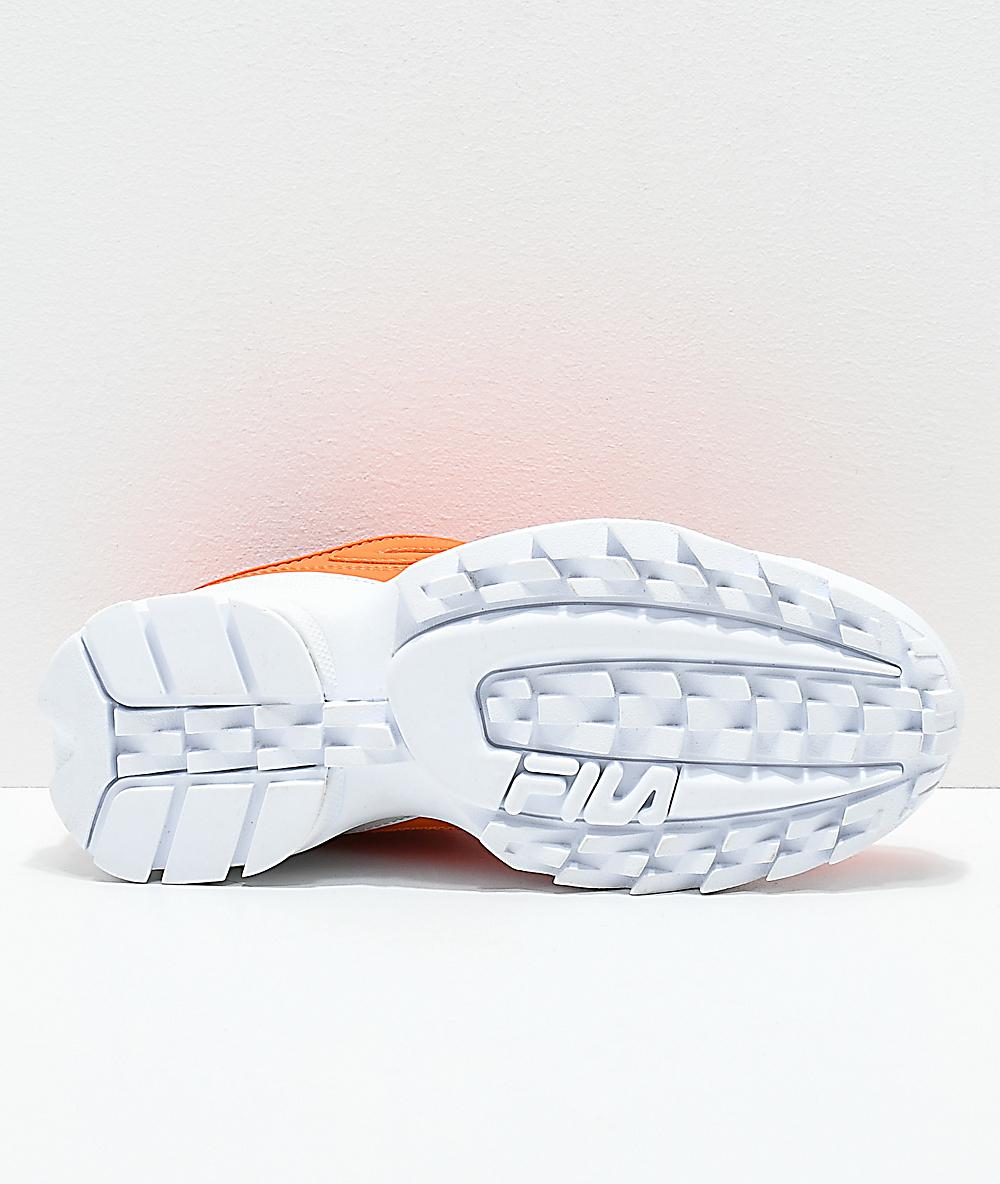 Disruptor Shoes Fila Disruptor Ii Fila Orange rdoChQsBtx