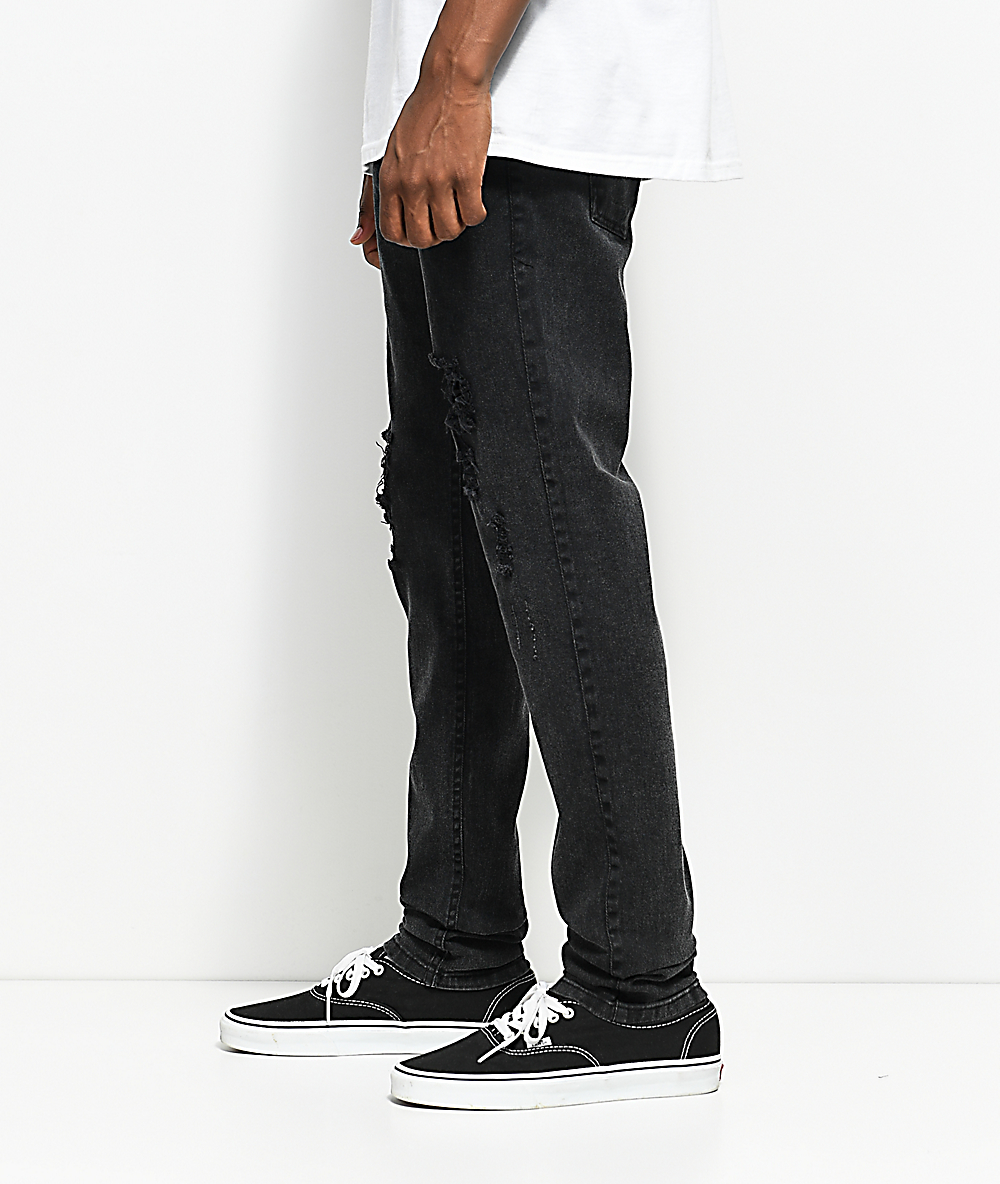 4ab53ee175c Fairplay Lathan Black Ripped Jeans | Zumiez