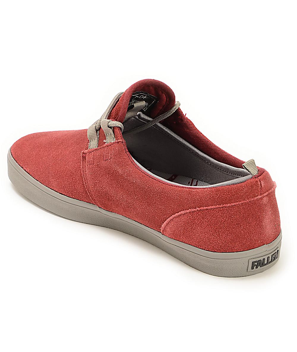 6552ea6269eed Fallen Capitol Cordovan & Cement Grey Skate Shoes