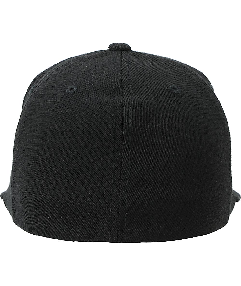 e0b99aed Famous Stars and Straps Motion Black & Turquoise Flexfit Hat | Zumiez