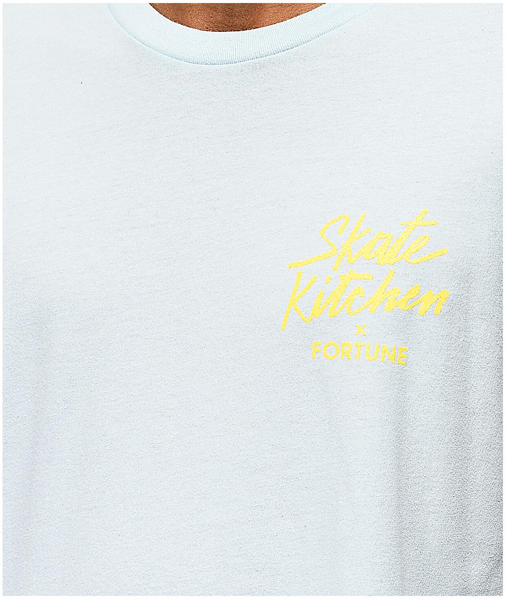 55b1e113ab27 Fortune x Skate Kitchen Kitchen Blue T-Shirt | Zumiez