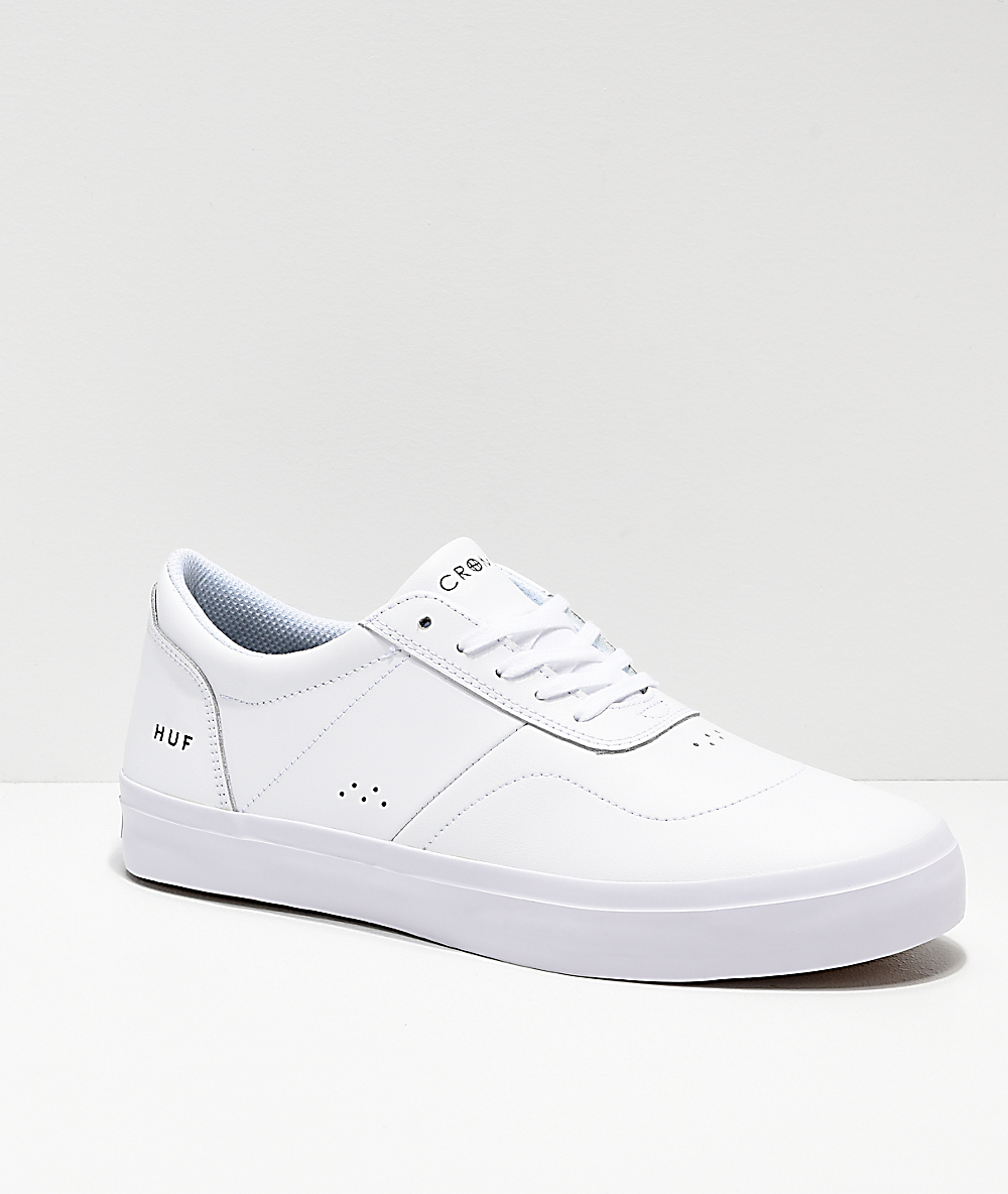 Leather Cromer All Shoes 2 Huf White Skate E2DW9IH