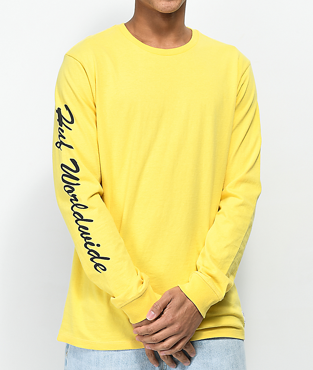 60b5259b6dbda HUF X Felix the Cat San Banana Long Sleeve T-Shirt | Zumiez