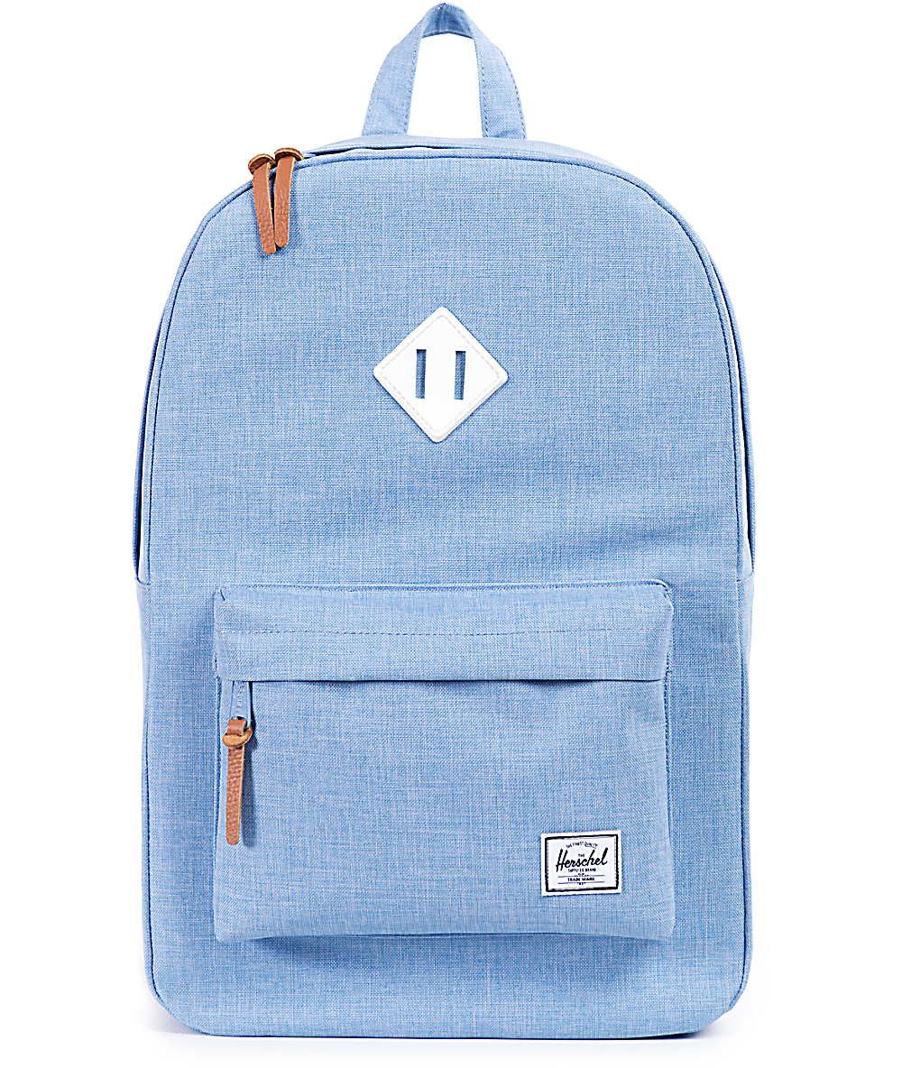 afffd727a Herschel Supply Co. Heritage Chambray Crosshatch 21L Backpack | Zumiez