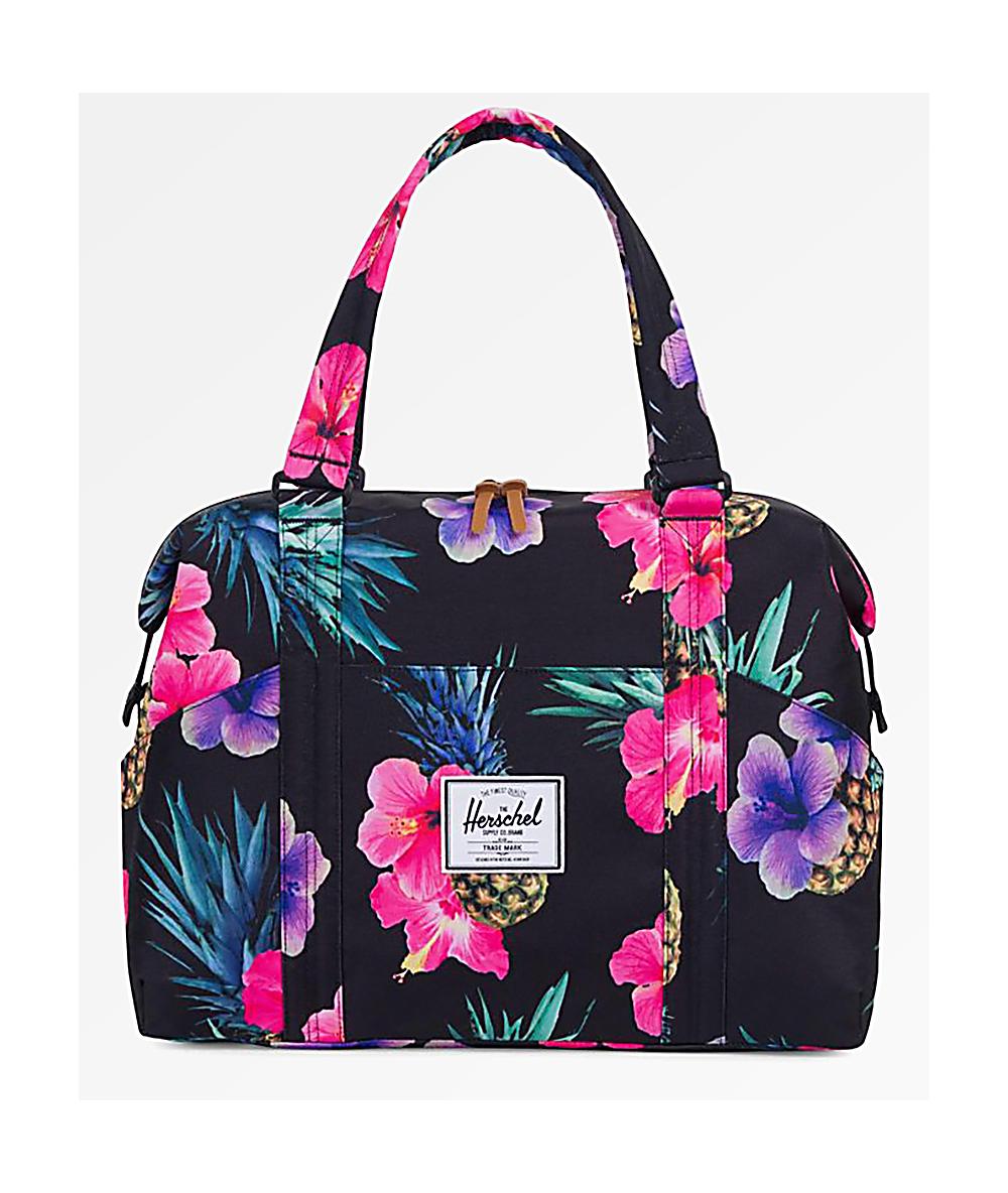 396bcadb8 Herschel Supply Co. Strand XS Black Pineapple 12.5L Duffle Bag | Zumiez