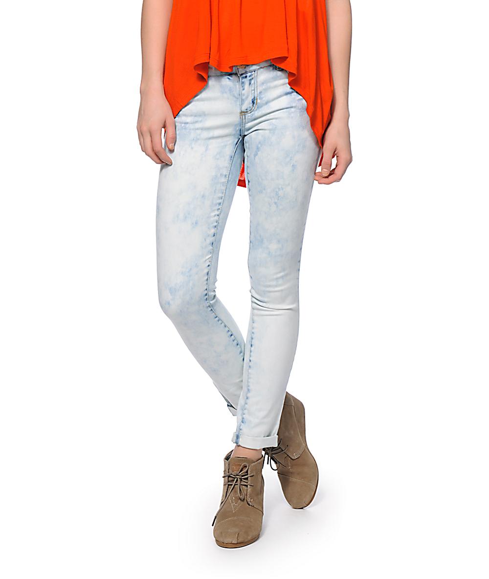 Highway Jeans Mandy Acid Wash Skinny Jeans