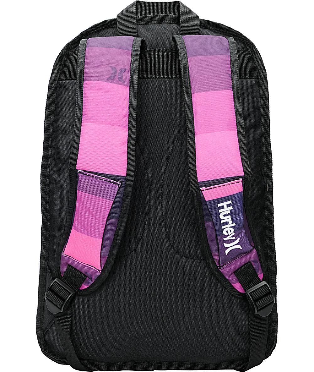 790adfa296 Hurley Sync Pink Laptop Backpack | Zumiez