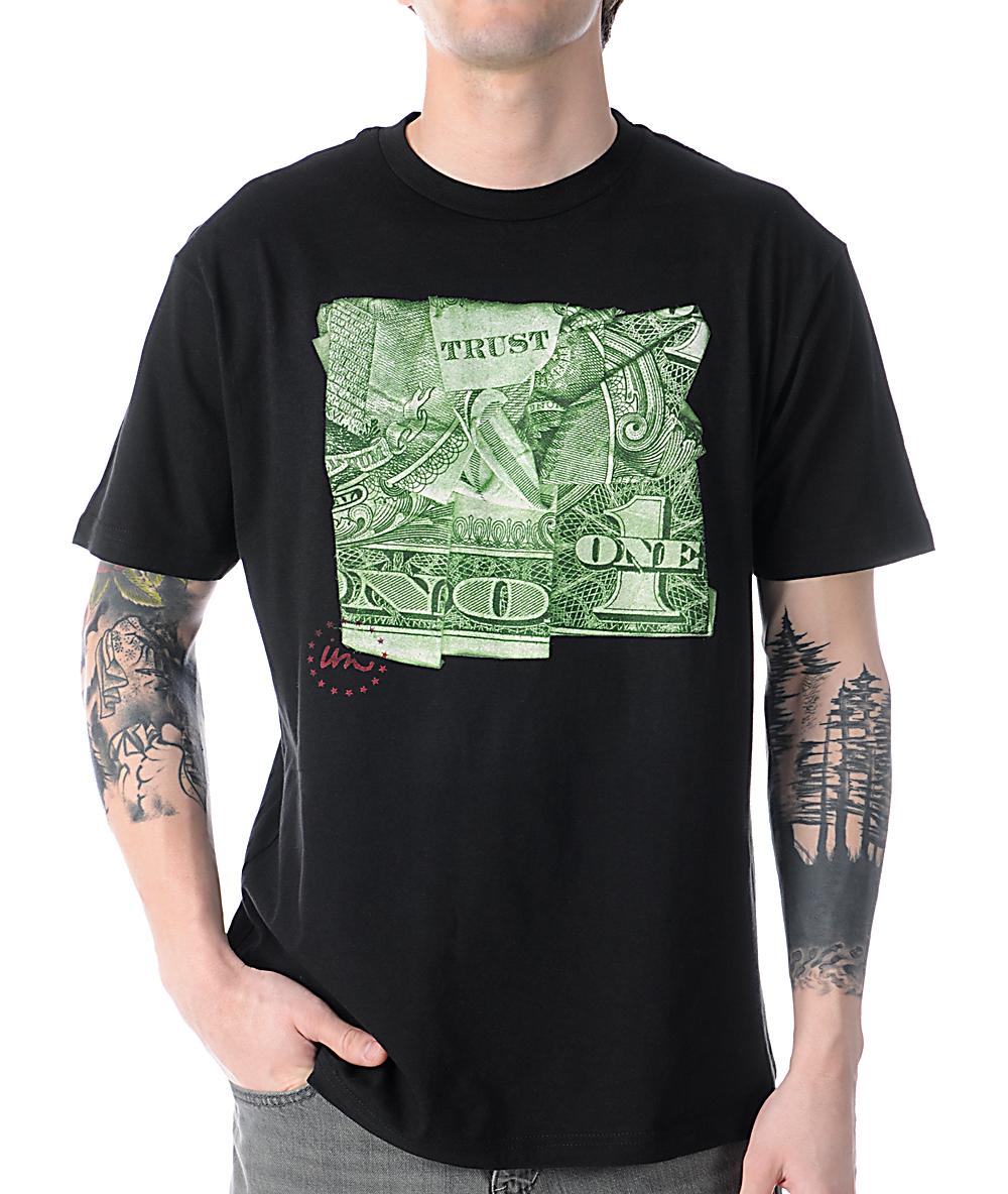 Dollar Bill Tee Shirt Origami - DREAMWORKS | 1184x1000