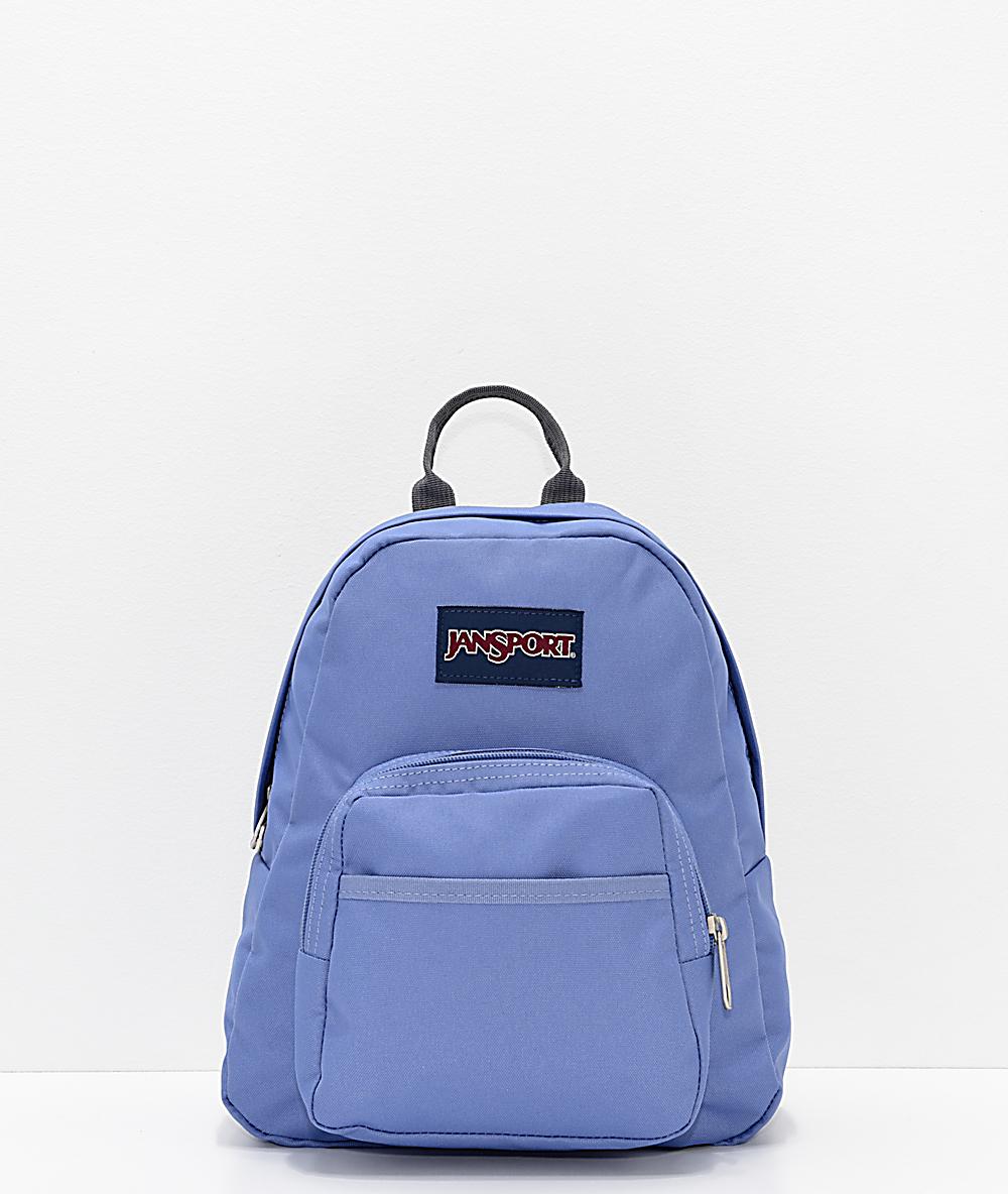 2402e5505 JanSport Half Pint Bleached Denim Mini Backpack | Zumiez