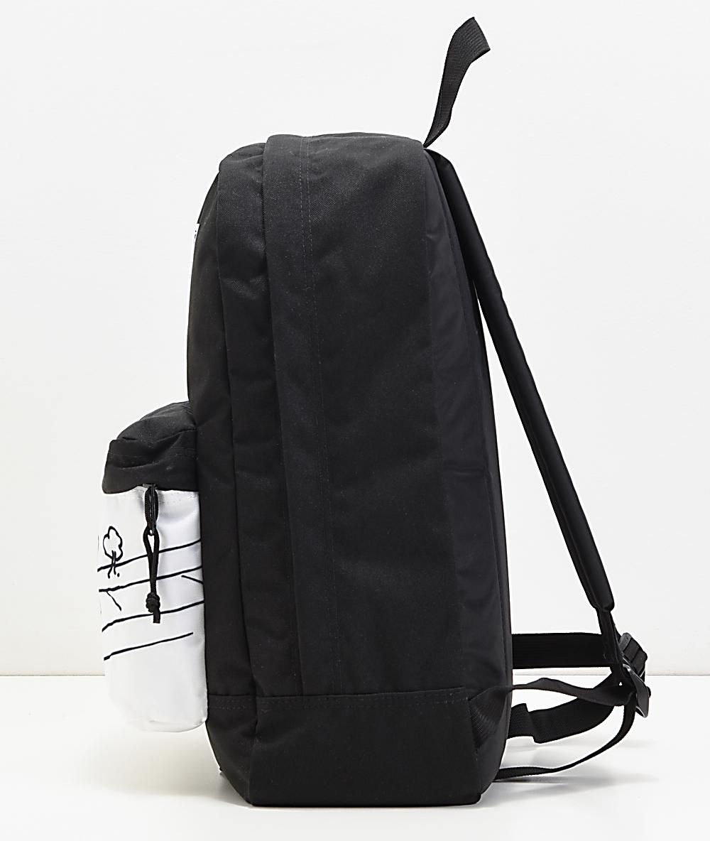 JanSport x Mark Gonzales The Gonz FX Black & White Backpack