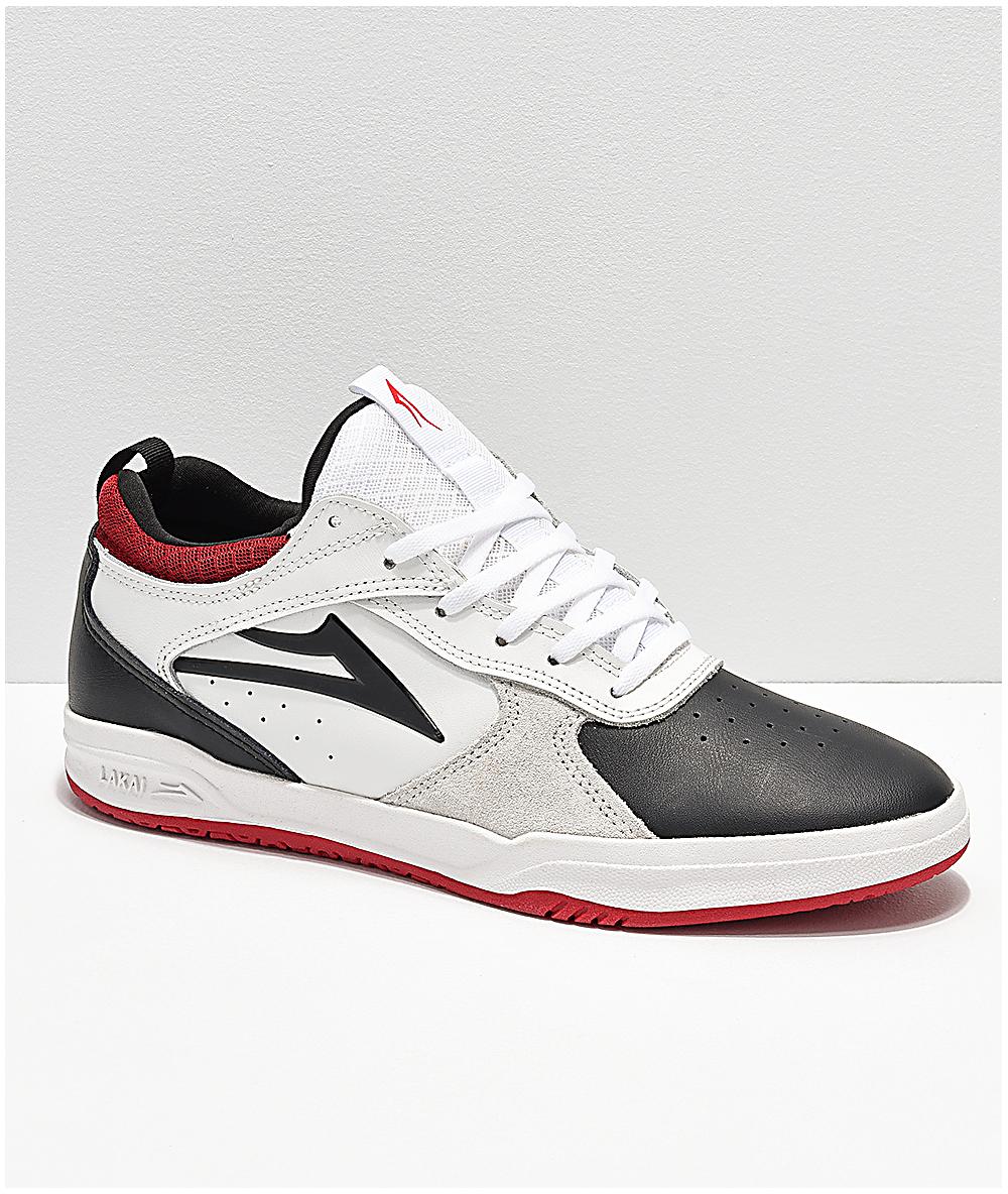 84c14ad1ad5 Lakai Tony Hawk Proto White & Black Skate Shoes