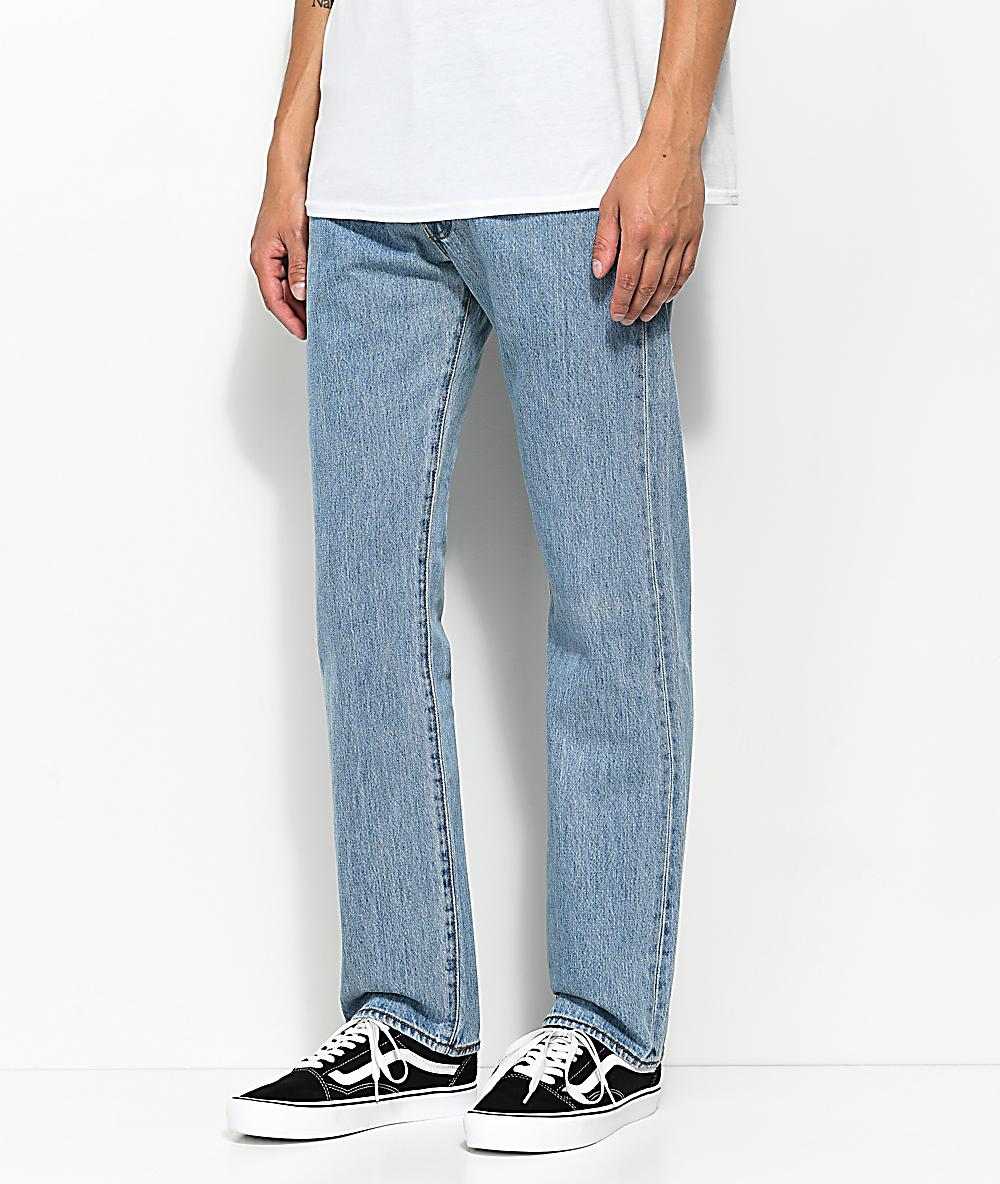 51f6f839afa Levi's 501 Light Stone Wash Original Fit Jeans | Zumiez