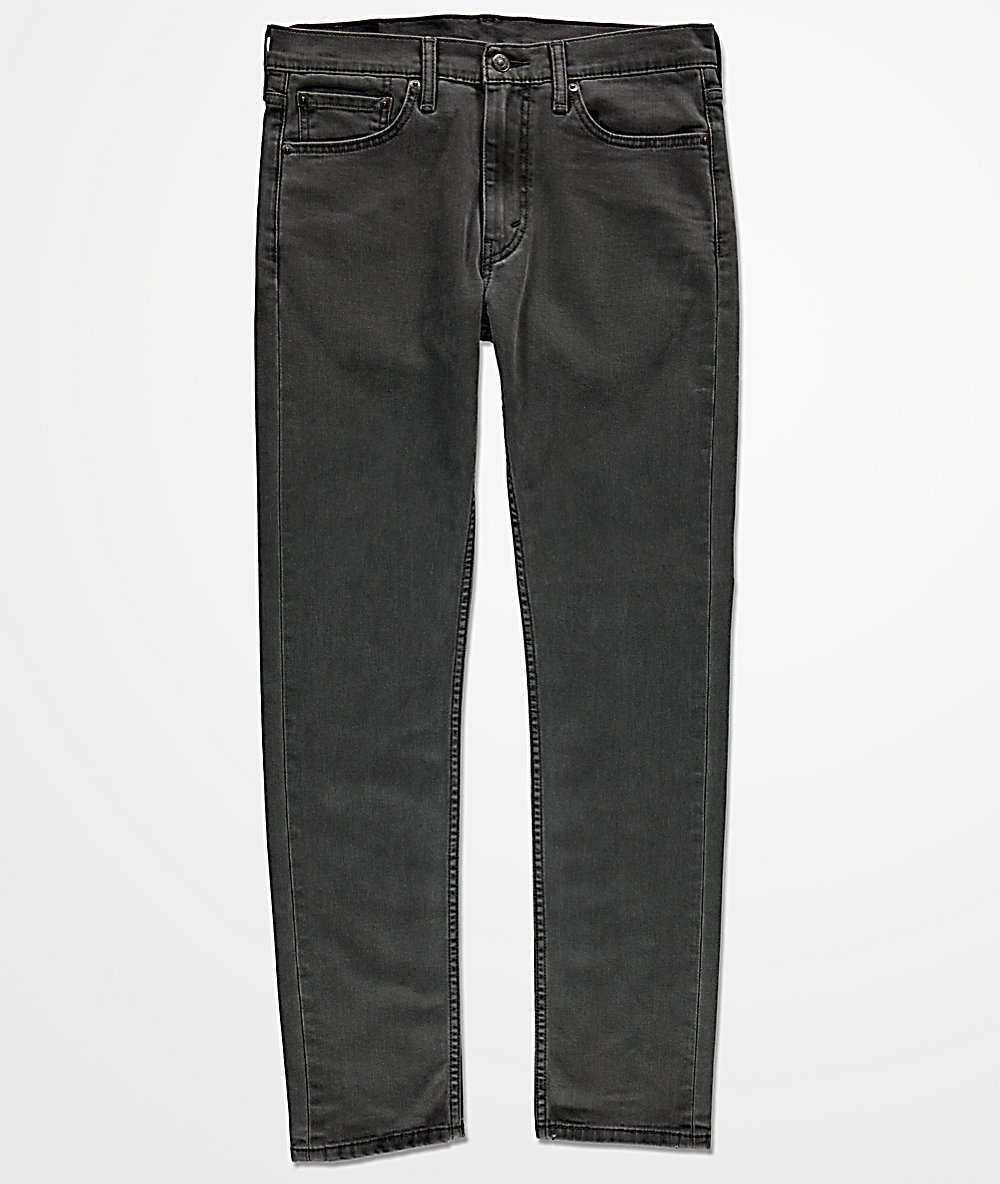 33459f36d05840 Levi's 510 Noise Addict Skinny Fit Grey Jeans   Zumiez