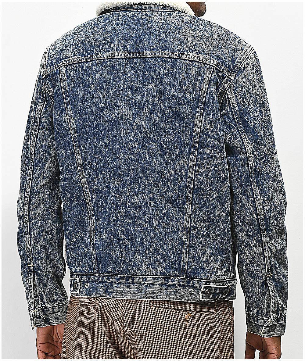 Levis Type Iii Hailstorm Sherpa Denim Jacket