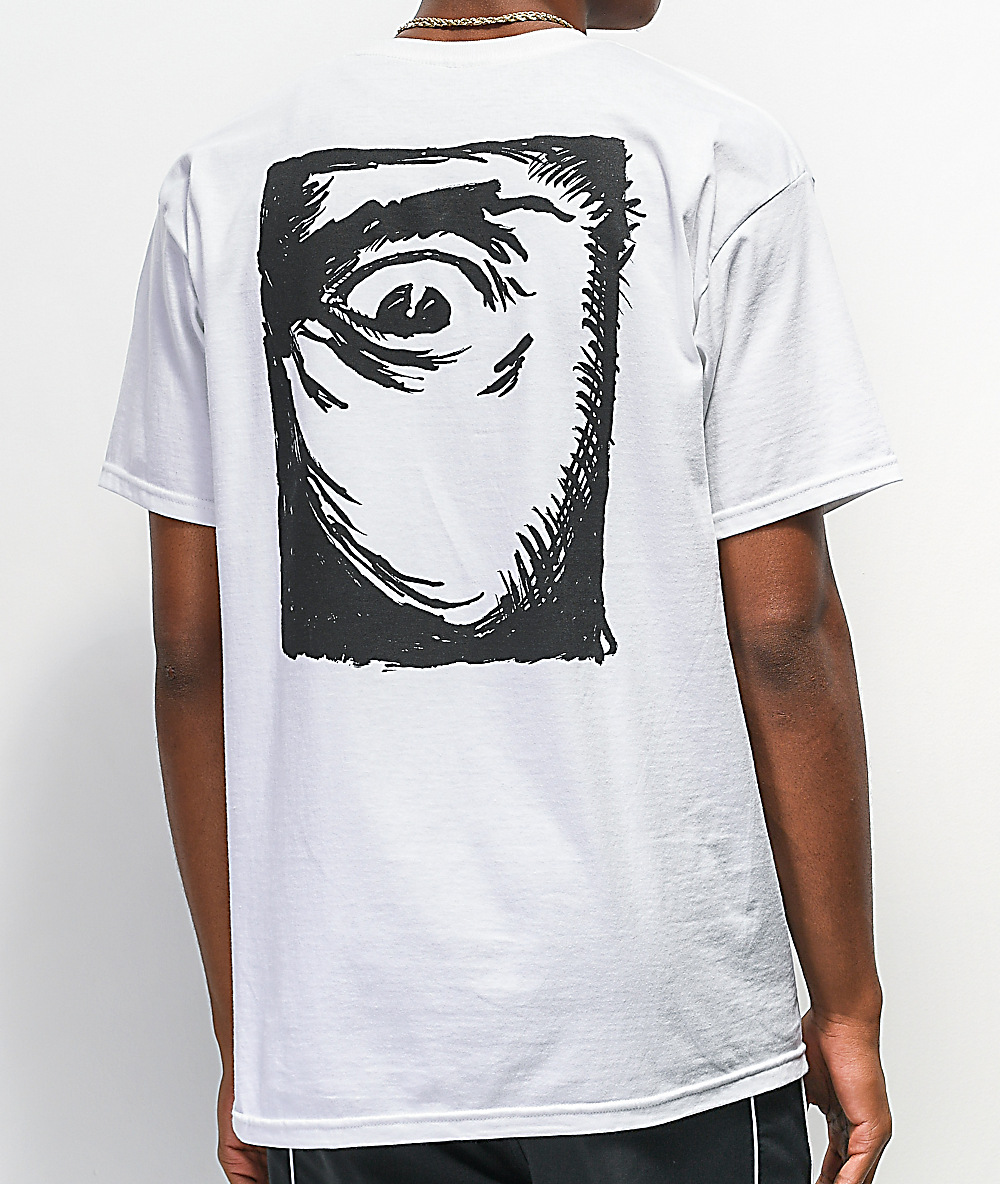Madness Mad Eye White T Shirt Zumiez
